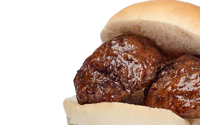 Broodje Bal gehakt huisgemaakt